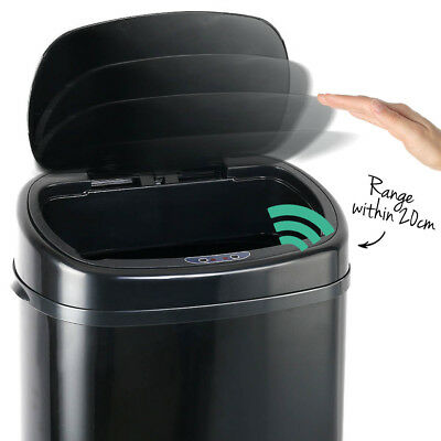 88L Automatic Motion Sensor Rubbish Bin Hands Free Waste Basket Trash Can
