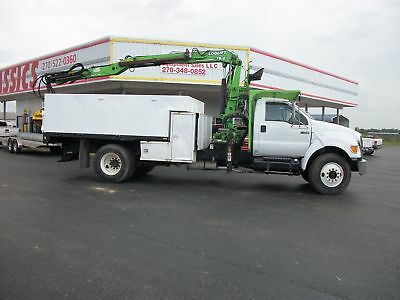 2005 Ford F750 ChipDebri Truck Chipper Trucks