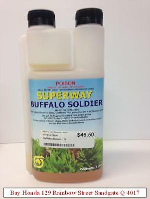 Superway Buffalo Soilder for Buffalo, Couch and QLD Blue Couch Weed Control