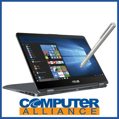 "ASUS TP410UA-EC231T 14"" Touch Core i3 FLIP Notebook Win 10 Home"