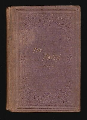The Raven (1870) Edgar Allan Poe, W. Jennings Demorest, 1St Separate Edition