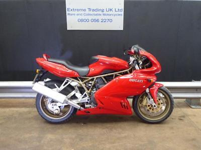 Ducati 900SS IE 1998 Red Stunning with low mileage