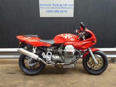 Moto Guzzi 1100 Sport 1996 Carb model in Red Fantastic condition.with low miles