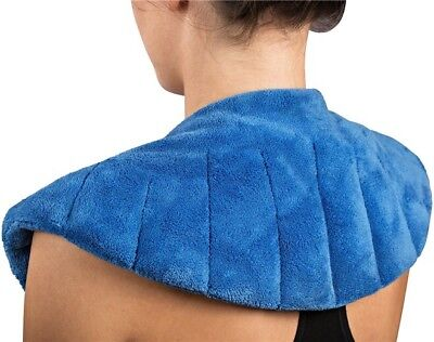Neck & Shoulder Pain Relief Heating Pad - Natural Heat Or Cold Pack Therapy