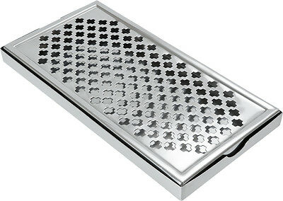 STAINLESS STEEL DRIP TRAY for DRINKS professional BAR CLUB USE