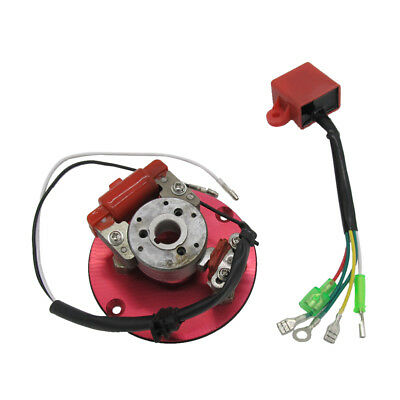 Motorcycle Inner Rotor Ignition Magneto Stator for Dirt Pit Bikes 50cc-125cc