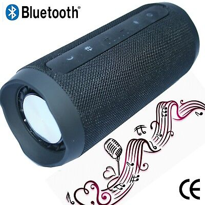 Musikbox Lautsprecher Soundbox Portable Soundstation Bluetooth CARD USB schwarz