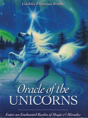 Oracle of The Unicorns Card Pack by Cordelia Francesca Brabba (NEW & Sealed)