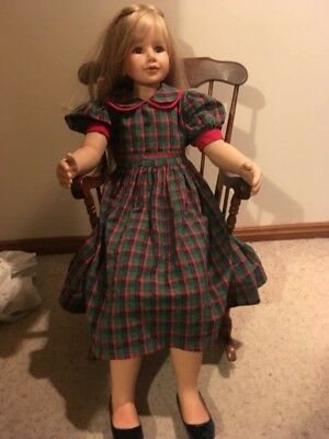 Masterpiece Doll by Monika Peter- Leicht - More Than A Metre Tall