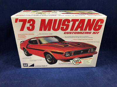 MPC 1973 Ford Mustang 1:25 Scale Plastic Model Kit 846 New in Factory Box