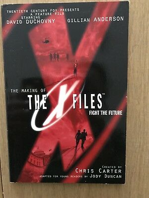 X-files book fight the future in great condition