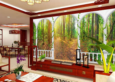 Palace Of Forest 3D Full Wall Mural Photo Wallpaper Printing Home Kids Decor