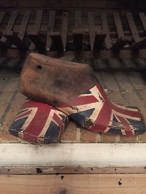 Vintage Timber Union Jack Shoe Lasts