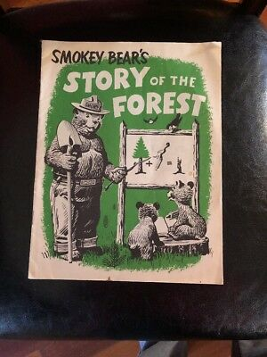 1960 Smokey Bear's Story of the Forest - PA Dept. of Forests and Water