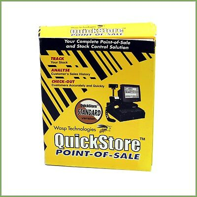 Wasp Technologies Quickstore Pos Manuals - No Install Disk - Used