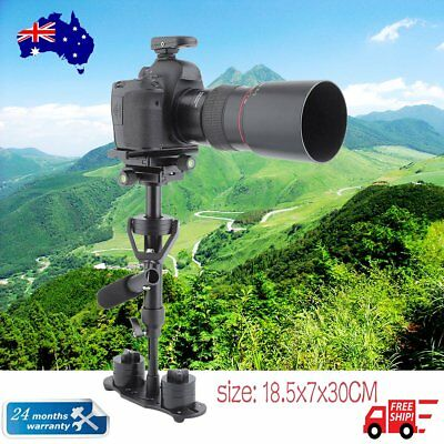 S40 Handheld Video Stabilizer Steadycam Steadicam f/Camcorder DSLR Camera DV AUR