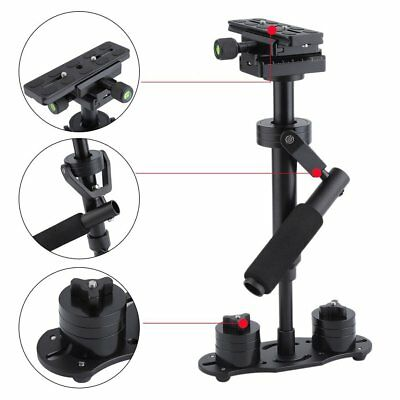 S40 Handheld Video Stabilizer Steadycam Steadicam f/Camcorder DSLR Camera DV AU^
