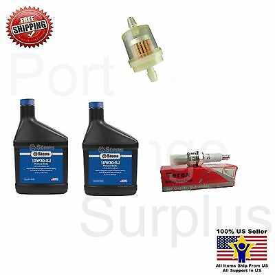 Scooter Moped ATV 50cc 125cc 150cc tune up kit Fuel filter Stens Oil Spark Plug
