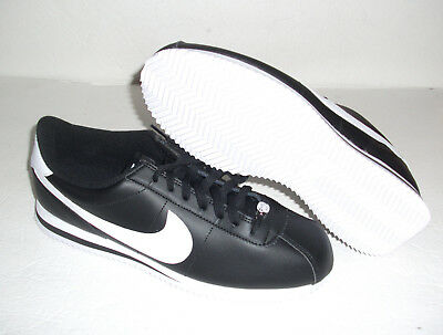 sneakers for cheap a3e72 69f8d NEW NIKE CORTEZ Basic Leather, Men s Size 10.5, Black White, 819719-012 -   62.99   PicClick