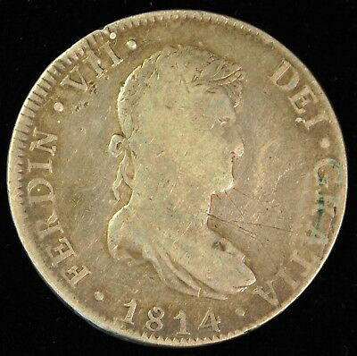 1814 Mexico 8 Reale. ITEM AD19