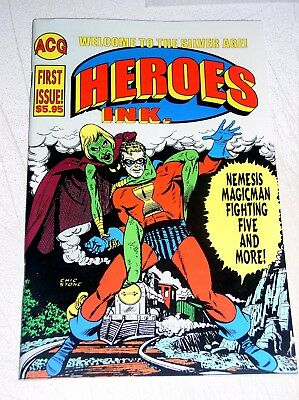 Heroes Ink. #1  Welcome To The Silver Age Acg Reprints