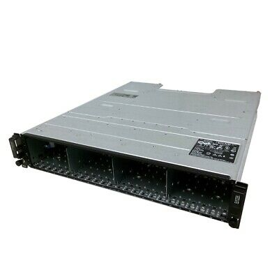 Dell Powervault MD1220 – 2x SAS 6gb/s Controller – 2x PSU – No Drive/Trays
