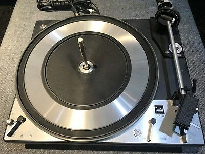 Dual 1218 Turntable As-Is Parts Gold Mine