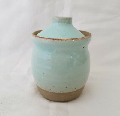 ❀ڿڰۣ❀ BRADAN FEASA Irish STUDIO POTTERY Earthenware TRINKET POT / JAR ❀ڿڰۣ❀ Rare