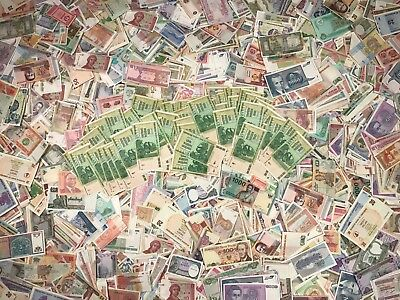 Foreign Money World Paper Unc Currency Bills Collection Lot Liquidation Sale New