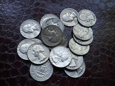 One full Roll of 90% Silver Quarters, 40 total