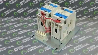 USED Westinghouse W210M1CFCY7 Reversing Contactor Assembly Size 1 No Relay