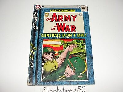 Our Army At War #147 Comic DC 1964 Sgt Rock Generals Don't Die Joe Kubert Easy