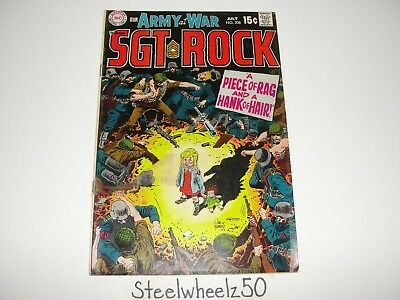 Our Army At War #208 Comic DC 1969 Sgt Rock & Easy Company Kanigher Joe Kubert