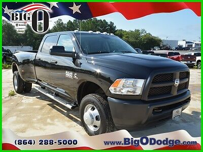2017 Ram 3500 Tradesman 2017 Ram 3500 Tradesman New Turbo 6.7L I6 24V Automatic 4WD Pickup Truck