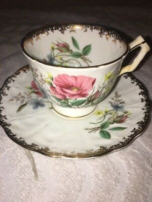 Aynsley England Bone China #27 cup And Saucer Gold Trim