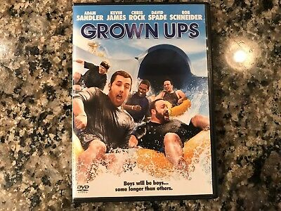 Grown-Ups Dvd! 2010 Comedy! See) Zookeeper & The Benchwarmers