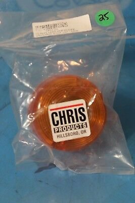 Chris Products Turn Signal Replacement Lens Amber Dhd-2A 86-99 Fx