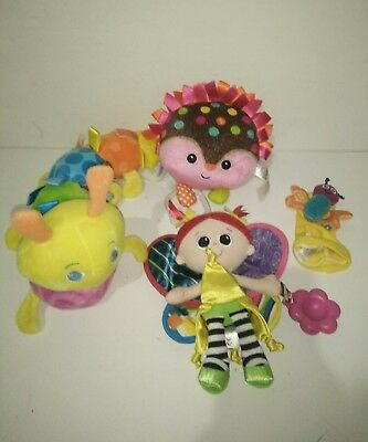 Fisher Price Giggle Gang Happy LAMAZE Kerry Fairy FootFinder TAGGIES Caterpillar
