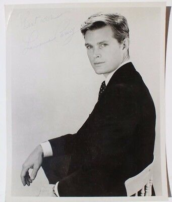 Vtg Lawrence Casey Autographed Hand Signed Press Movie Headshot Photo