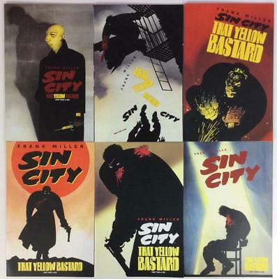 Sin City - That Yellow B@5tard #1 to #6 complete series (Dark Horse 1996)