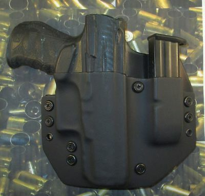 HUNT READY HOLSTERS: Walther PPQ M2 9mm KYDEX LH OWB Holster
