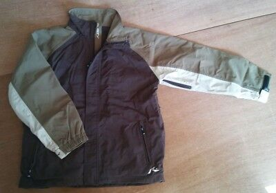 mens XL RUSTY ski / board JACKET - premium label - EXC ++ - fully featured