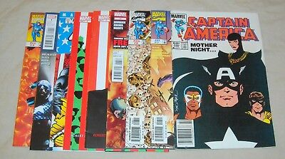 CAPTAIN AMERICA Lot 290 7 8 13 + TRUTH RED WHITE & BLACK 1 2 + US AGENT 1 ++++++