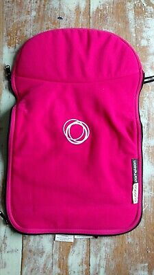 Bugaboo Cameleon I/II Bassinet Carrycot Cover Apron Pink Fleece