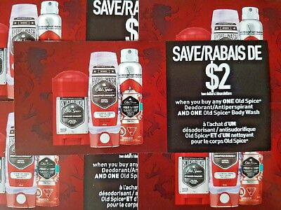 Old Spice Deodorant & Body Wash (Canada Only)