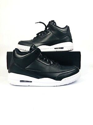 5347254d4532 NIKE AIR JORDAN 3 Retro Cyber Monday Black White 136064-020 ...