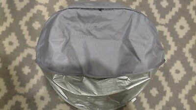 UPPAbaby Vista (2015 - Later) Sun Shade Canopy Fabric - Pascal / Grey