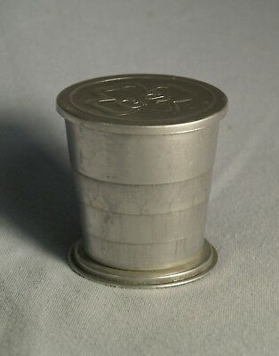 Girl Scouts Collapsible Camping Travel Cup, Aluminum w/ GS Insignia