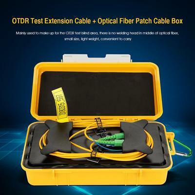 1KM Singlemode OTDR Launch Cable Extension Cord Fiber Ring SC/UPC-SC/APC FC/UPC