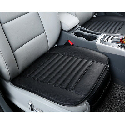 Universal Breathable Car Seat Cover Pad 3D Mat PU Leather Auto Chair Cushion BK